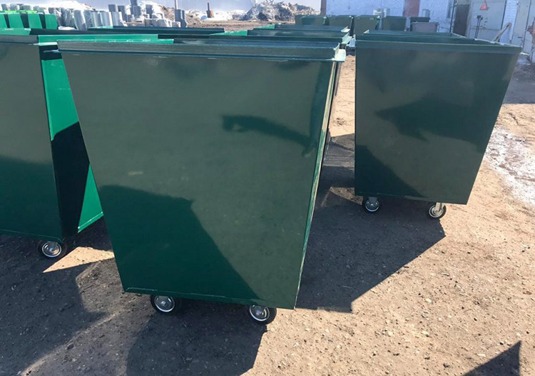 производство контейнеров для мусора