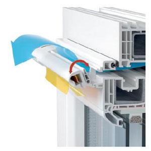 Вентиляционные клапаны на пластиковые окна
