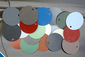 цвета и покрытия