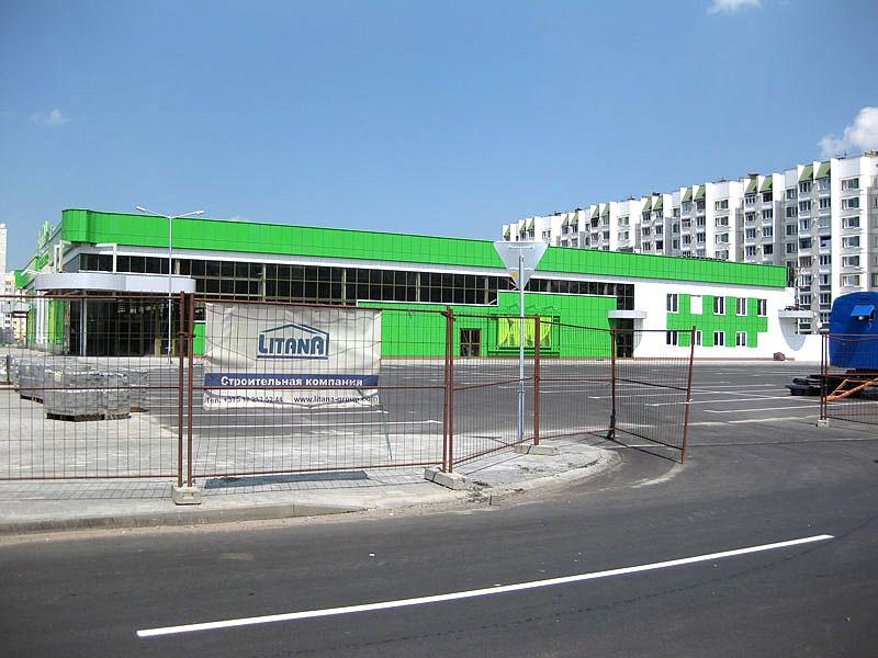 супермаркет в 19-м микрорайоне г. Гомеля