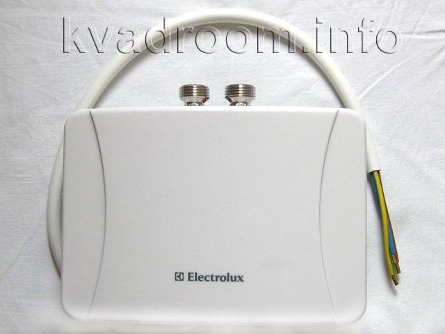 Электрический проточный водонагреватель Electrolux NP6 MINIFIX сверху