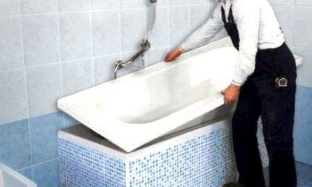 Отзывы об акриловой вставке в ванну
