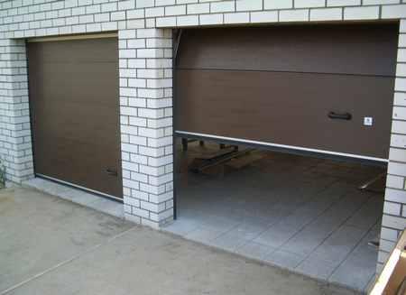 Автоматические ворота в гараж и их преимущества