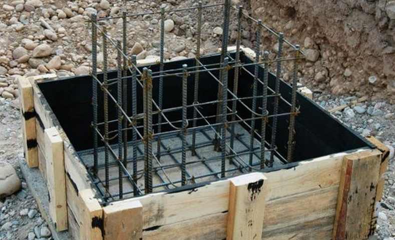 Бетонирование колонн - заливка бетонных колонн своими руками