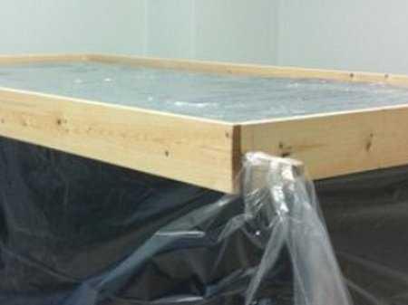 Полировка и шлифовка бетонной поверхности
