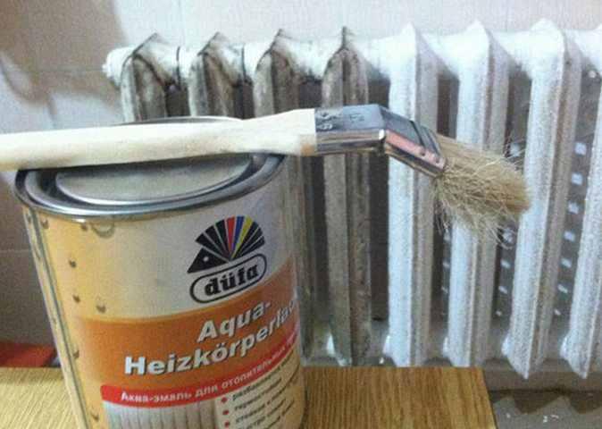 Чем покрасить батареи отопления и как правильно