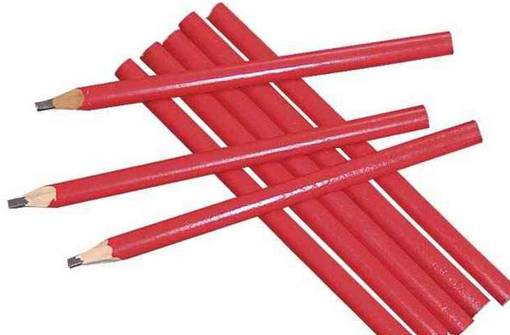 Что такое строительный карандаш и в чём его отличия от обычного?