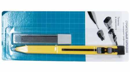 Как выбрать строительный карандаш