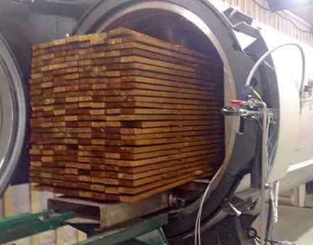 Технология производства термодревесины