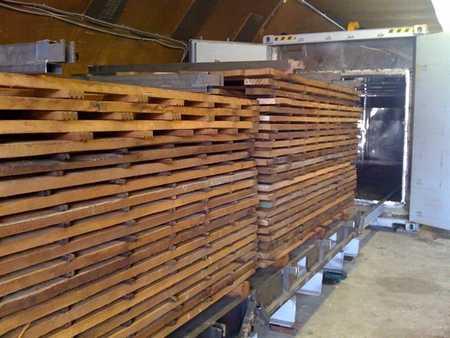 Процесс термообработки древесины