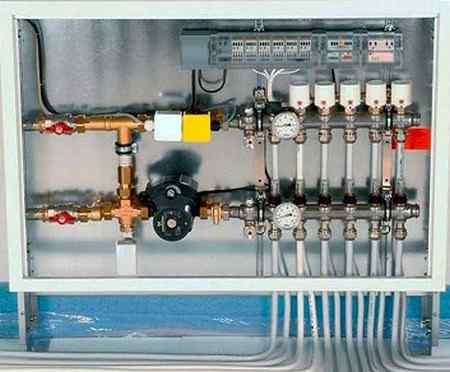 Что входит в систему отопления частного дома