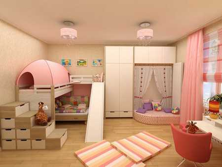 Дизайн детской в зависимости от возраста