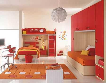 Зонирование детской и выделение спальни