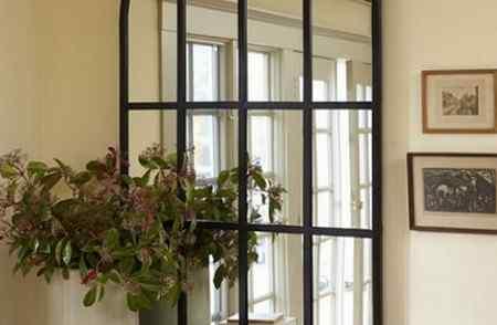 Фальш окно из зеркала или нарисованное своими руками