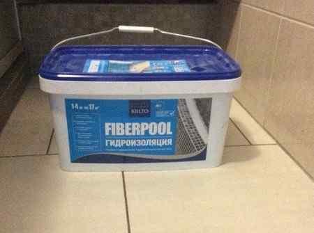 Гидроизоляционная мастика KIILTO Fiberpool - свойства и применение