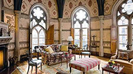 Интерьер в готическом стиле – история и особенности оформления