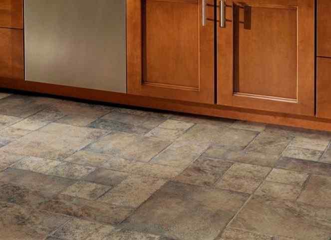 Из чего лучше сделать пол на кухне? Выбор напольных материалов