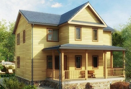 Расчет строительства деревянного дома