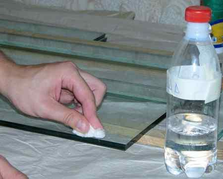 Как склеить стекло в домашних условиях
