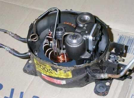 Как разобрать компрессор болгаркой