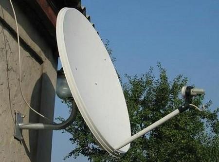 Этапы монтажа спутниковой тарелки