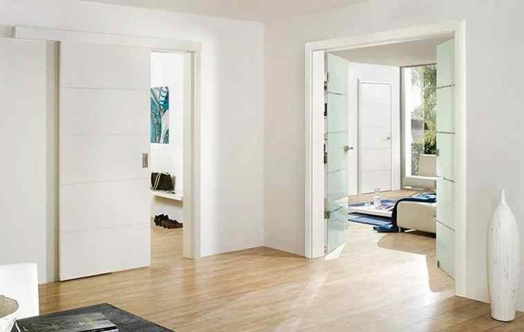 Как выбрать цвет межкомнатной двери под полы и стены