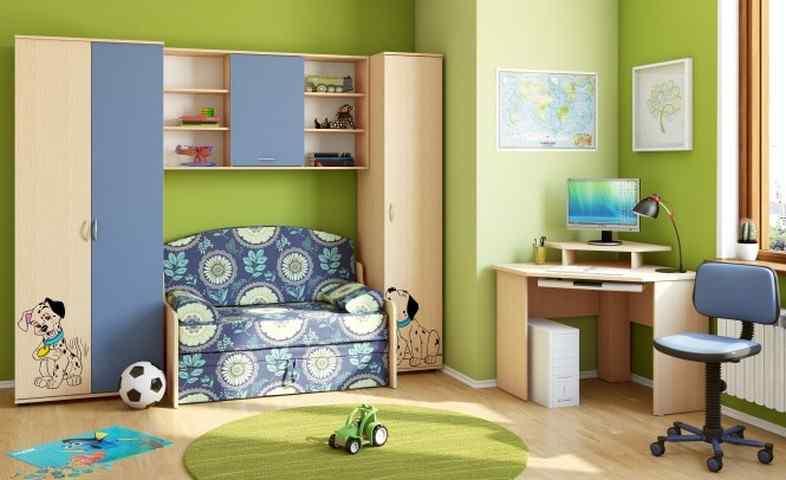 Как выбрать мебель для детской комнаты: критерии выбора