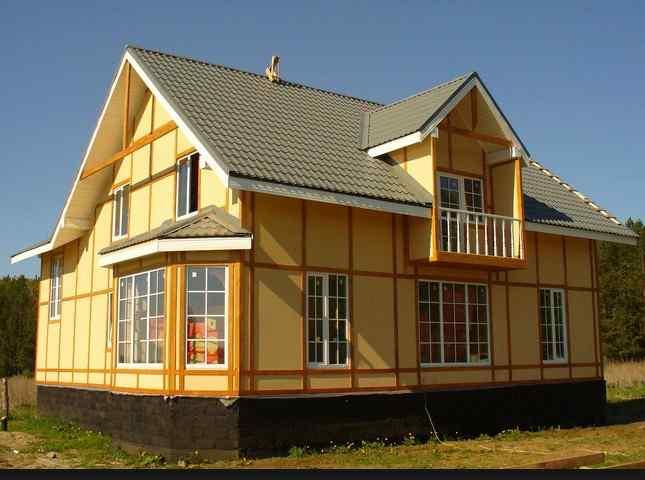Каркасное строительство домов и его преимущества