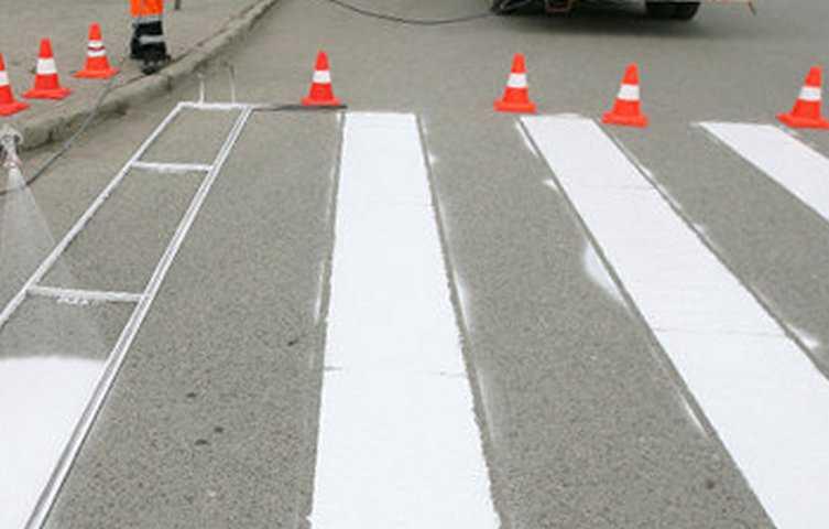 Краска для дорожной разметки - характеристики