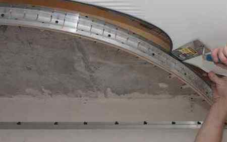Монтаж двухуровневого натяжного потолка своими руками