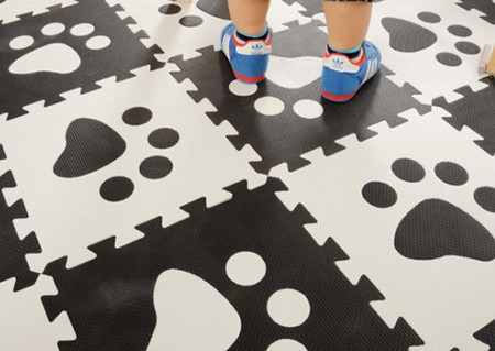 Мягкий пол ЭВА для детской комнаты – коврик-пазл