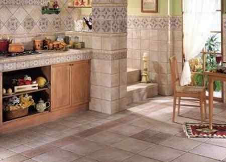 Критерии выбора покрытия для пола в кухне