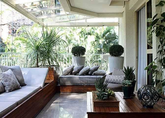 Оранжерея на балконе или зимний сад своими руками