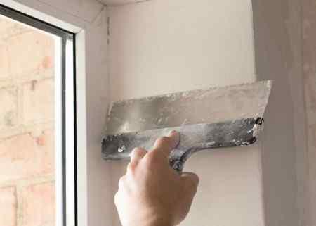 Оштукатуривание дверных и оконных проемов своими руками