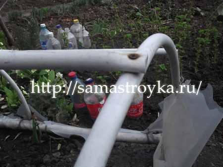 Парник из металлопластиковой трубы своими руками