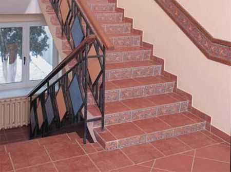 Плитка для лестниц – особенности и требования к ней