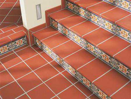 Лестничные ступени из плитки
