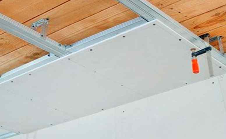 Подготовка поверхности потолка перед его отделкой