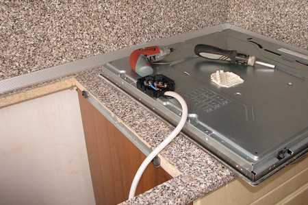 Подключаем варочную панель к электросети своими руками