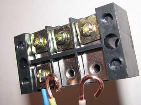 Подключение варочной панели с 4 проводами