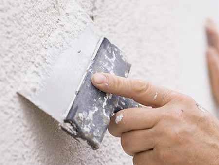 Шпаклевка бетонной стены