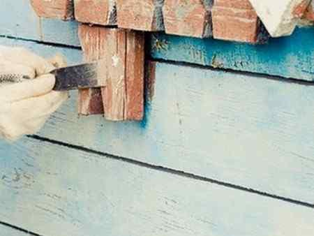 Покраска деревянного дома снаружи