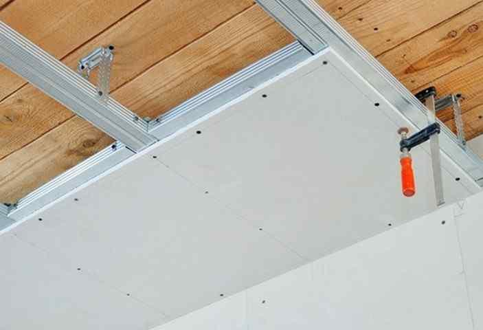 Размеры потолочного гипсокартона