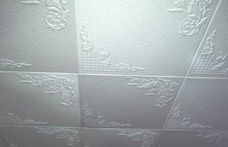 Преимущества потолков из пенопласта