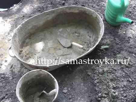 Приготовление цементного раствора своими руками