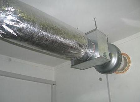 Расчет аэродинамических характеристик вентиляции