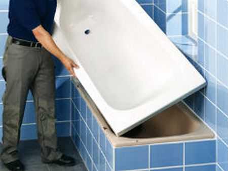 Ремонт акриловых ванн - альтернатива акриловым вставкам