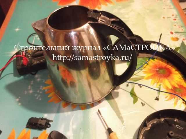 Как подключить чайник напрямую