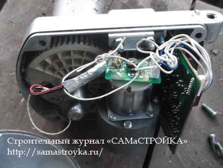 Ремонт мотоподвеса спутниковой антенны