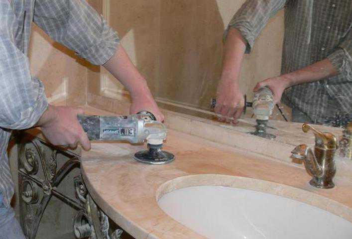 Инструменты для шлифовки мрамора